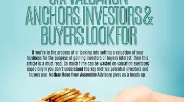 valuation anchors - NZ Entrepreneur
