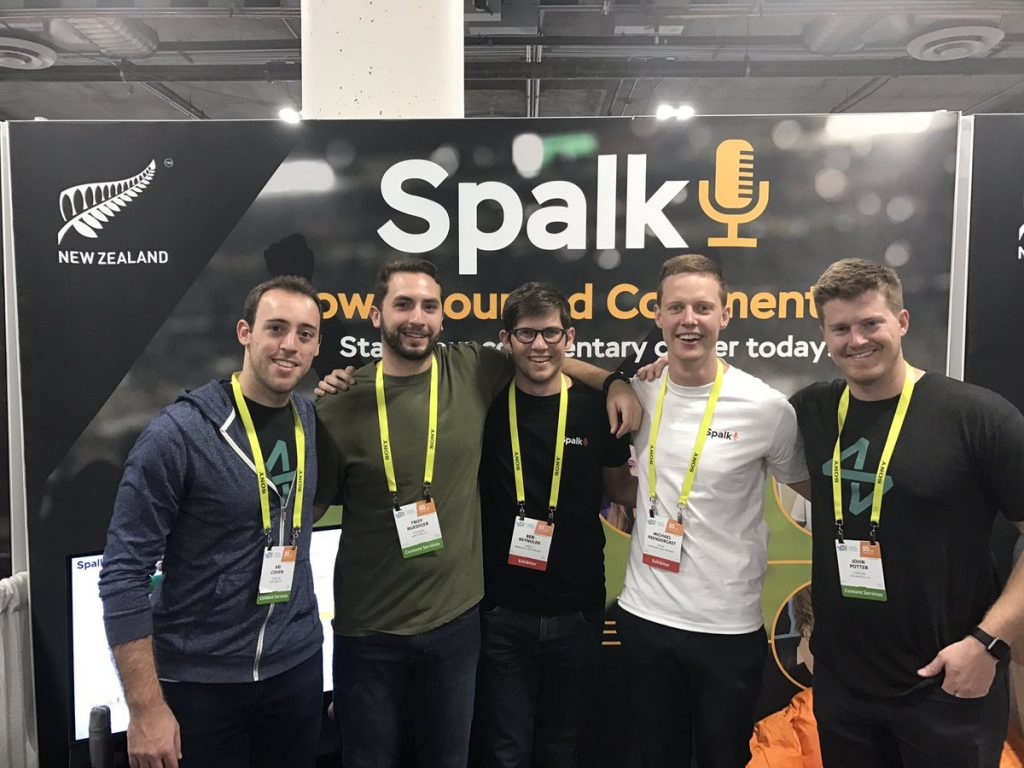 The Spalk team met with several partners at CES 2017 in Las Vegas.