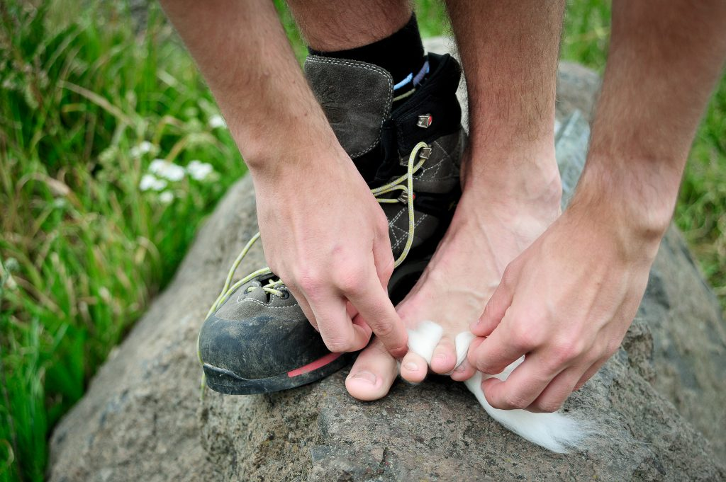 Walk On blister protection