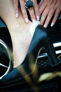 Walk On blister protection heels