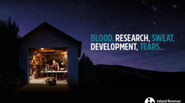 BLOOD, RESEARCH, SWEAT, DEVELOPMENT, TEARS…