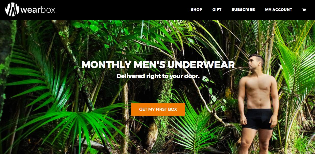 Wearbox website