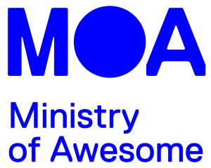 Ministry of Awesome logo