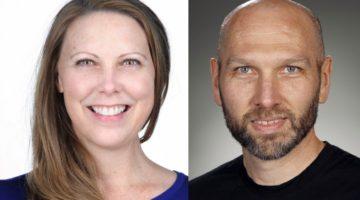 Tabitha Hayes and Adam Clark