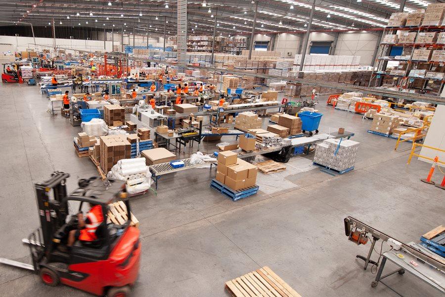 LJM co-packing warehouse
