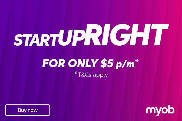 MYOB Startup Right Banner