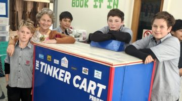 Super Humanics Tinker Cart